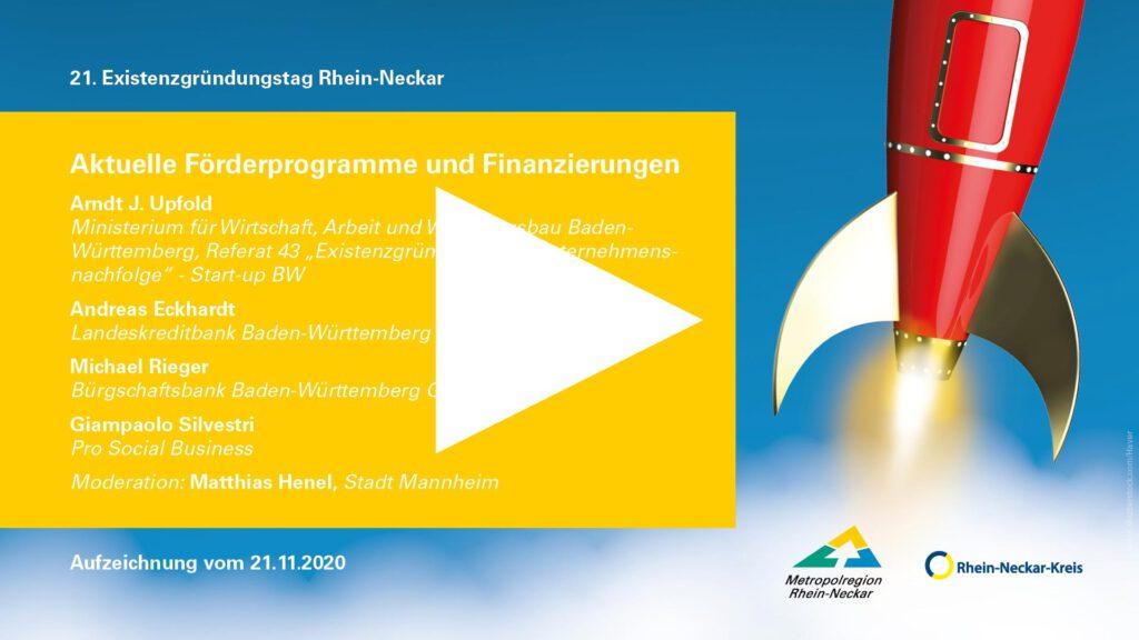 Aktuelle Förderprogramme und Finanzierungen